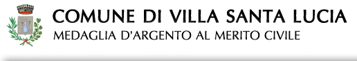 Comune di Villa Santa Lucia - sito web ufficiale dell'Amministrazione comunale